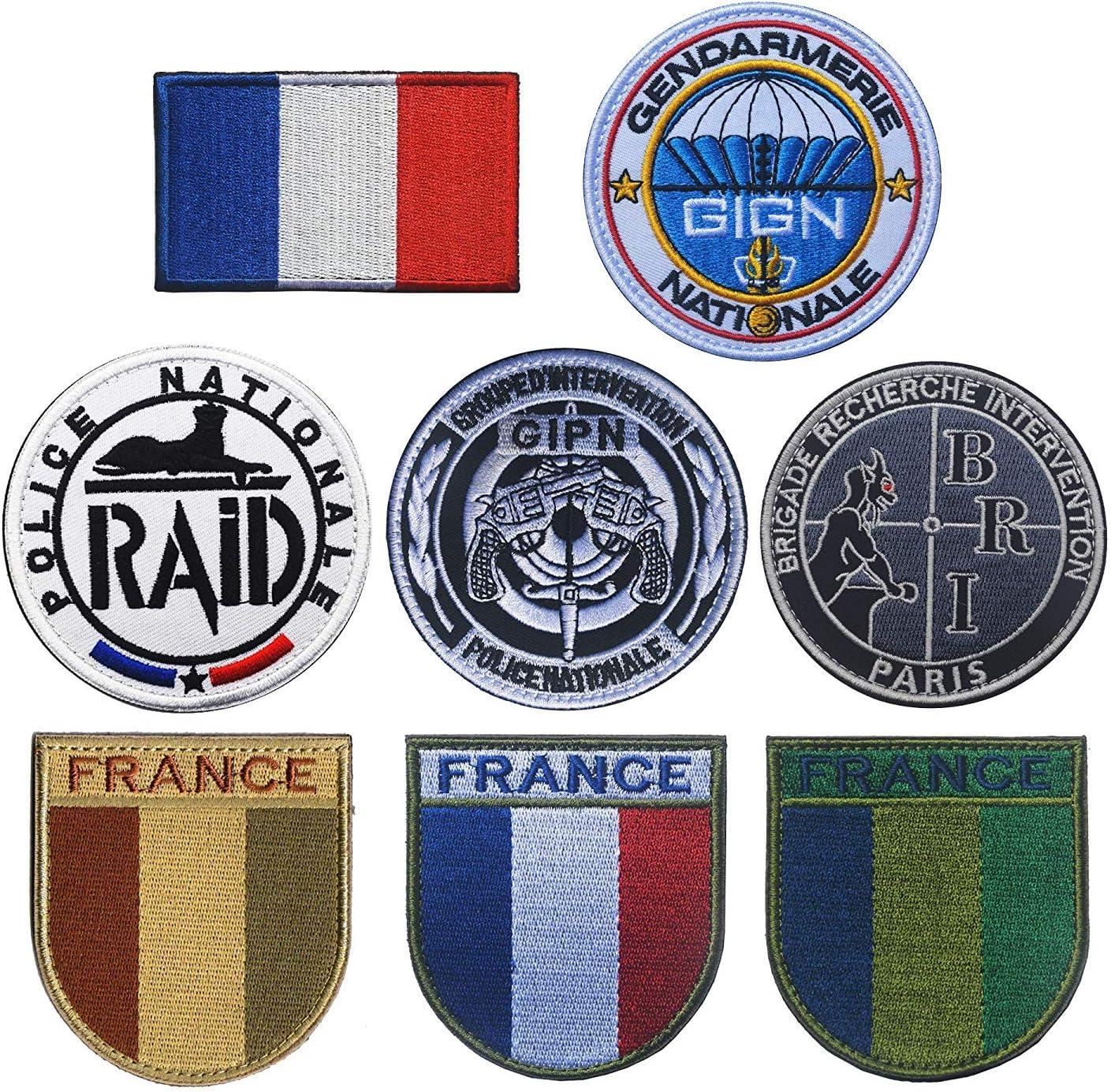Ohrong - Parche de policía nacional de Francia RAID/ASI/GIGN/BRI ...