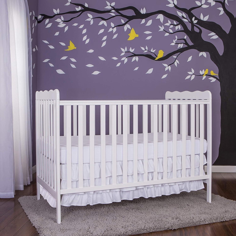 Dream On Me, Carson Classic 3 in 1 Convertible Crib in White