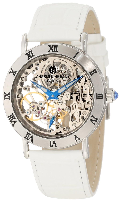 Charles-Hubert, Paris Women s 6790-W Premium Collection Stainless Steel Mechanical Watch