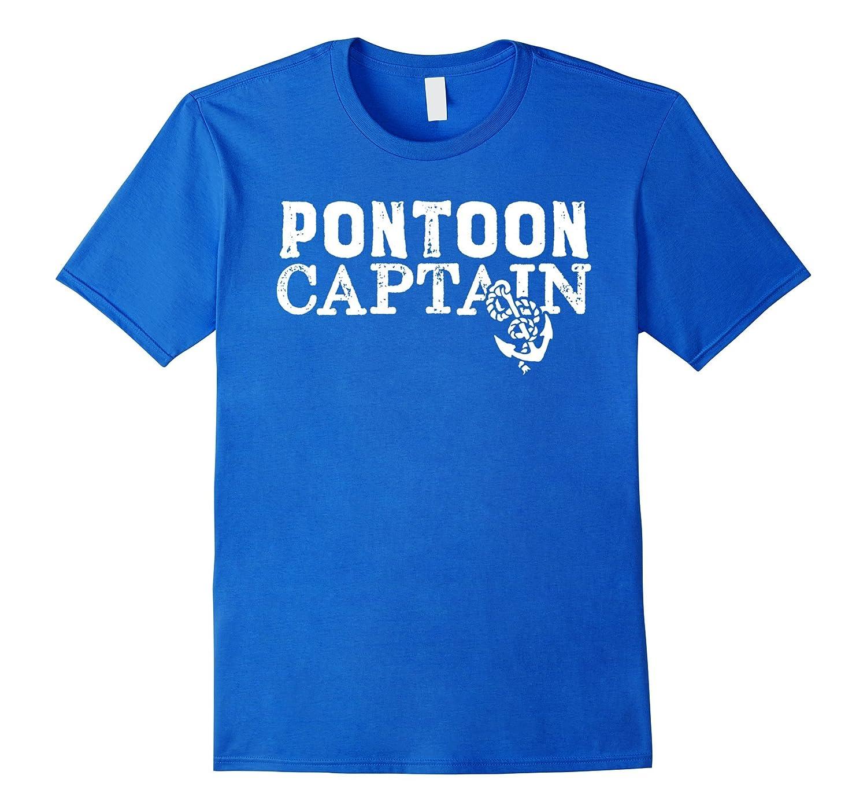 Pontoon Boat Shirt - Pontoon Captain t shirt-T-Shirt