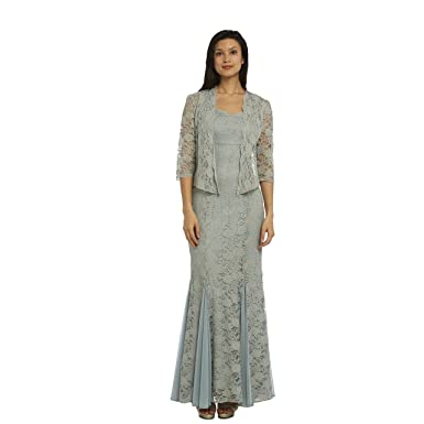 fdffee5f23 R M Richards Lace Gown Jacket at Amazon Women s Clothing store