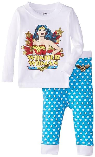 Intimo Niñas Classic Wonder Pajama Set Juego de pijama - Blanco -