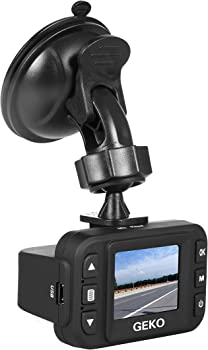 Geko E100 1080p Full HD Dash Camera w/DVR