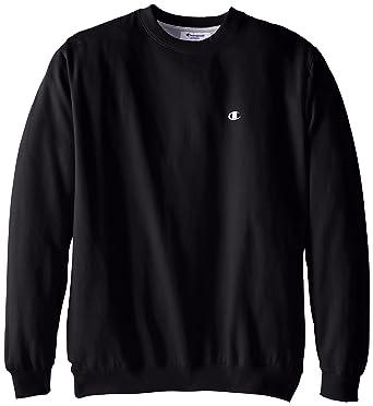 c09b91e85 Amazon.com  Champion Men s Big-Tall Fleece Crew Sweatshirt  Clothing