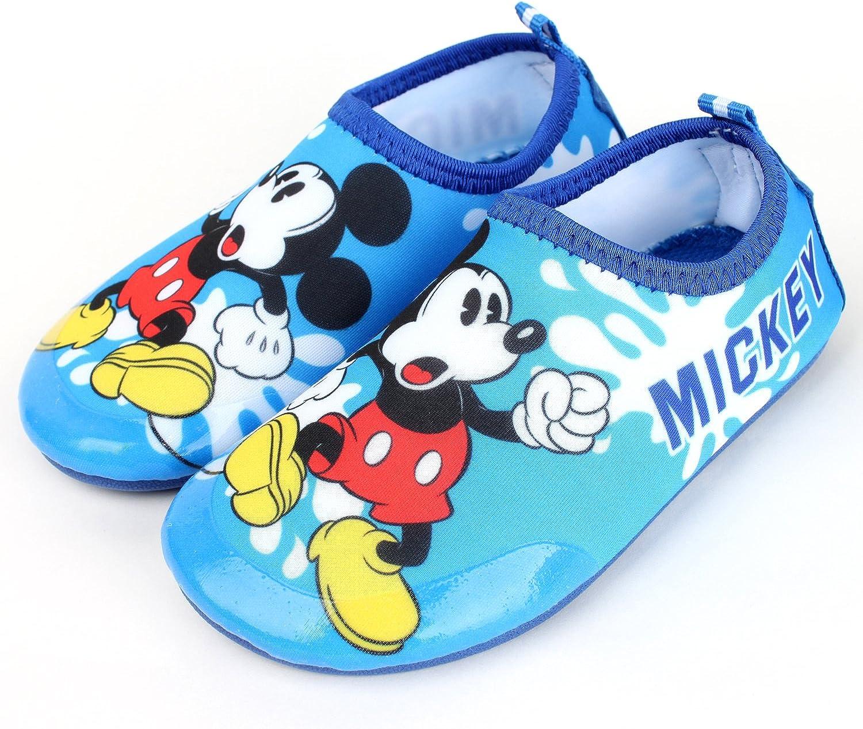 Joah Store Kids Water Shoes Boys Girls Elsa Mickey Minnie Hellokitty Sofia Pikachu Spider-Man Runs Small