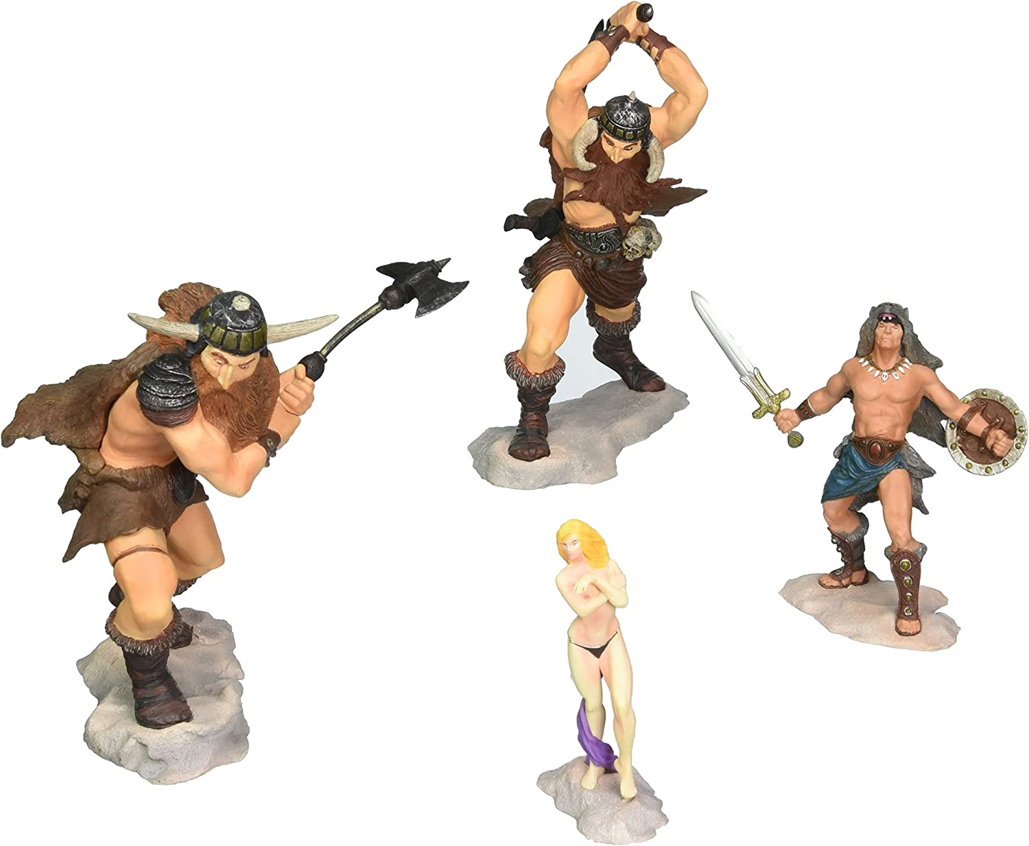 Conan The Frost Giants Daughter PVC Set Dark Horse JAN040081 Accessory Toys /& Games