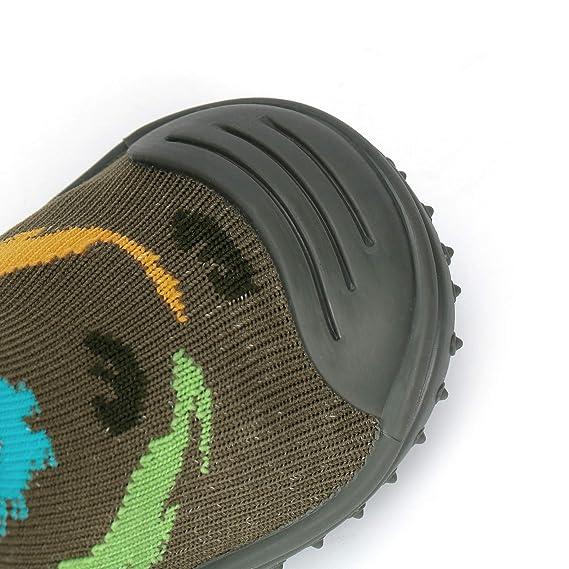 Amazon.com: Calcetines de bebé con suela de goma ...