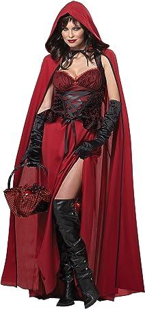 Generique - Disfraz Caperucita roja maléfica Halloween M (40/42 ...