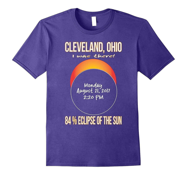 2017 Cleveland, Ohio Eclipse Souvenir T Shirt-Art