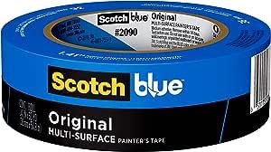 ScotchBlue Original Multi-Surface Painter's Tape, 2090, 1.41 inch x 60 yard, 1 roll