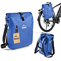 Borgen fietstas voor bagagedrager 3-in-1 fietsrugzak I bagagedragertas I schoudertas - combi fietstas - 100% waterdicht…
