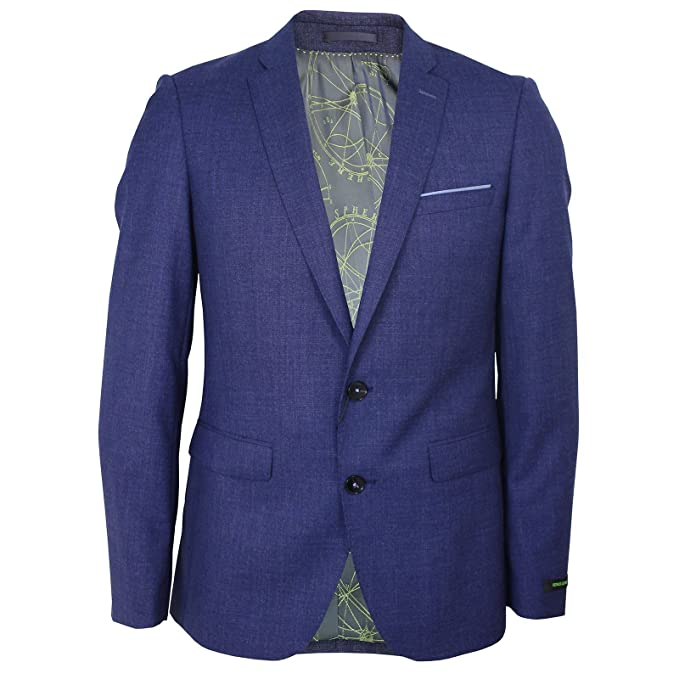 b056ac31247 Remus Uomo Lanzo Mens Blue Jacket 40R: Amazon.co.uk: Clothing