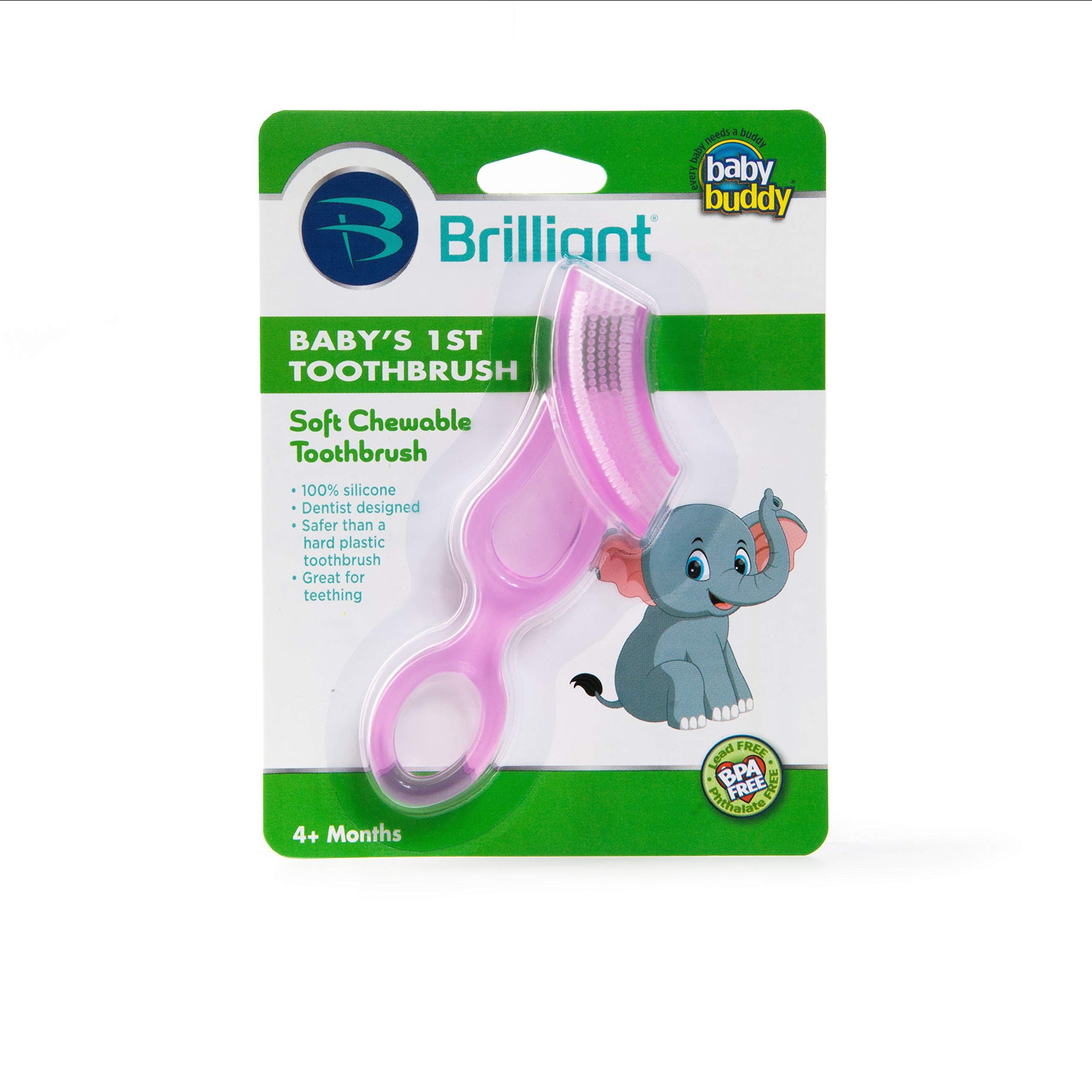 Brush-baby Teether Brush 10 Months Pack Of 6 At Any Cost 3 Years
