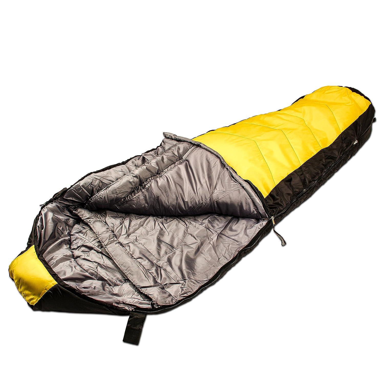 Northstar Tactical coretech Mummy, Multi capa Core saco de dormir, con Camping de compresión bolsa de almacenamiento: Amazon.es: Deportes y aire libre