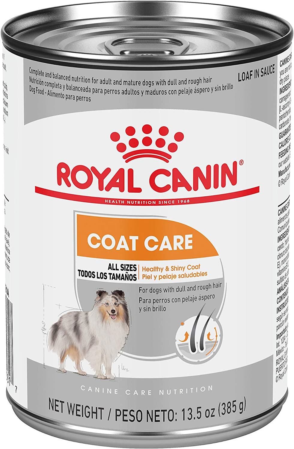 Royal Canin Canine Care Nutrition Coat Care Loaf in Gravy Dog Food