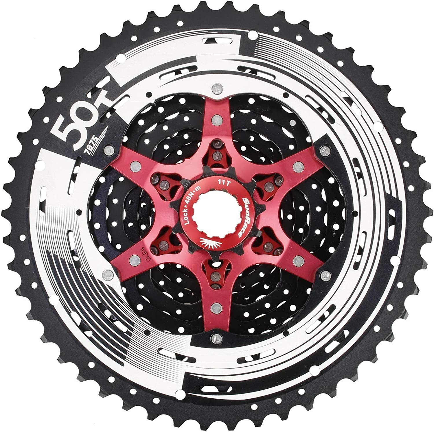 SunRace MX80 Compatible with Shimano 11 Speed Bike Bicycle Cassette Freewheel 11-50T