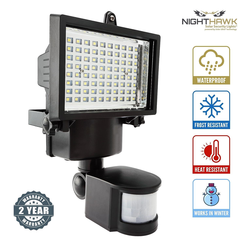 80 SMD LED Solarbetrieben Sicherheitslicht - Solarlampen mit ...