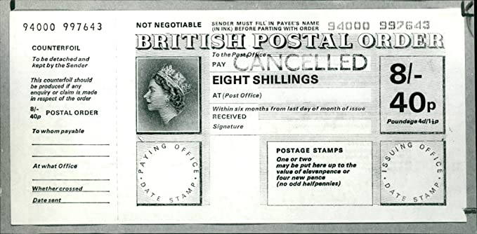 Amazon Com Vintage Photo Of Postal Orders Post Office The