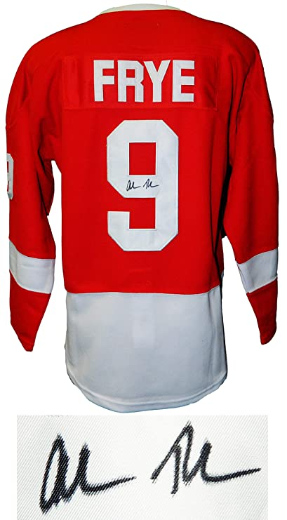 Alan Ruck Signed Ferris Bueller s Day Off Red Detroit Frye Hockey Jersey at  Amazon s Sports Collectibles Store d0eb0e2f804