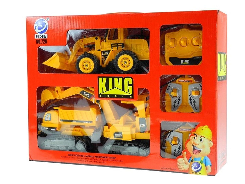Construcción y Minería KINGFORCE - Excavadoras de cadenas, Excavadoras y cargadoras de ruedas - Vehículos de construcción controlados a distancia ...