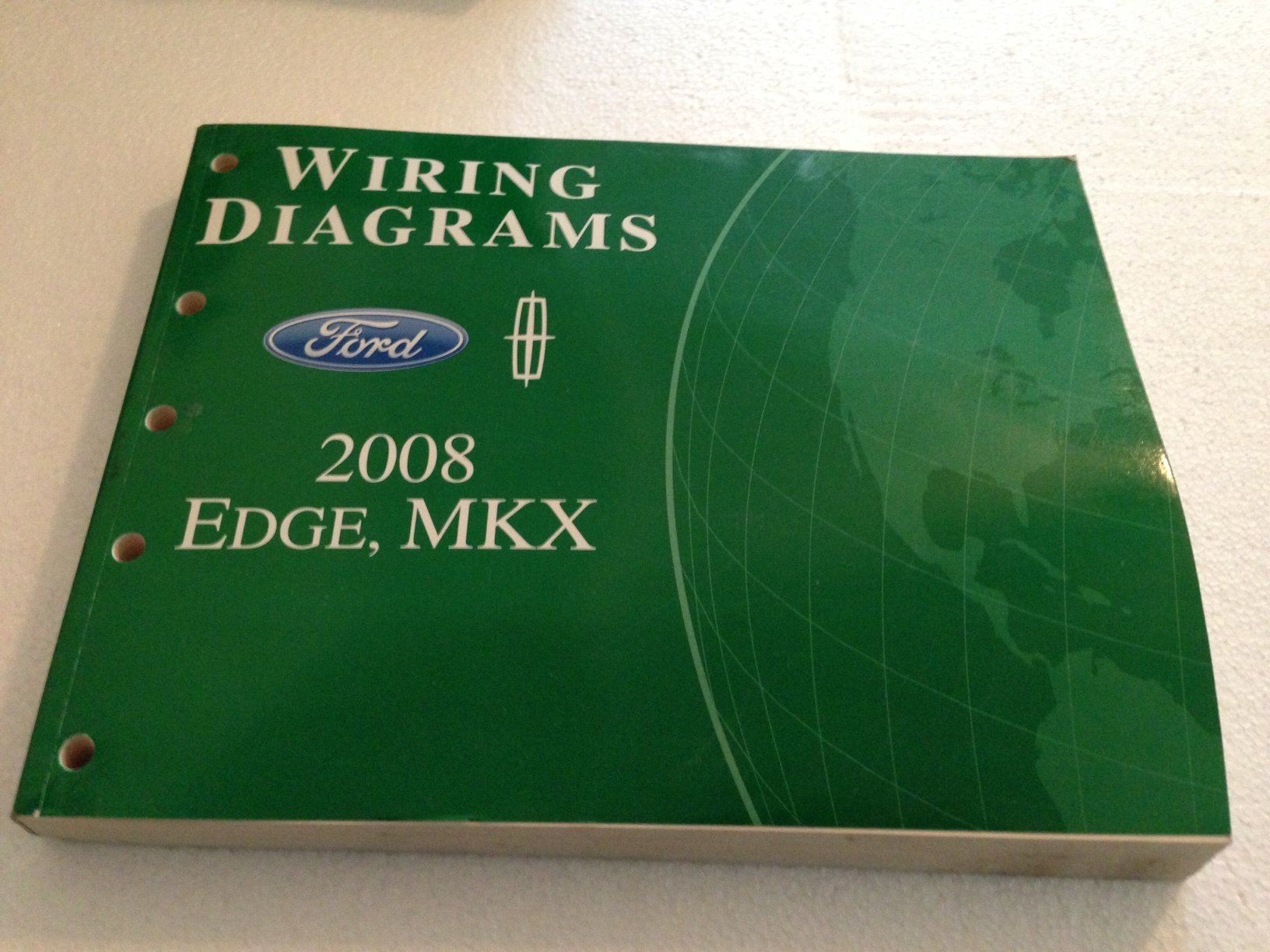 816 puouEnL 2008 ford edge lincoln mkx wiring diagram manual original ford