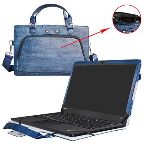 ThinkPad Yoga 370 Case,2 in 1 Accurately Designed Protective PU Leather Cover + Portable Carrying Bag for 13.3