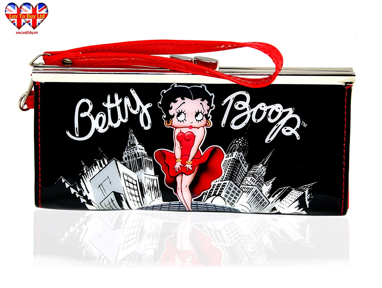 Amazon.com: Betty Boop - Bolso de mano para mujer, con ...