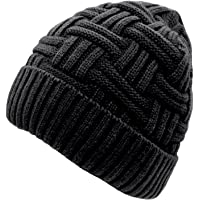 Loritta Mens Winter Warm Knitting Hats Wool Baggy Slouchy Beanie Hat Skull  Cap be99993ef51