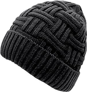 086e221d838 Loritta Mens Winter Warm Knitting Hats Wool Baggy Slouchy Beanie Hat Skull  Cap