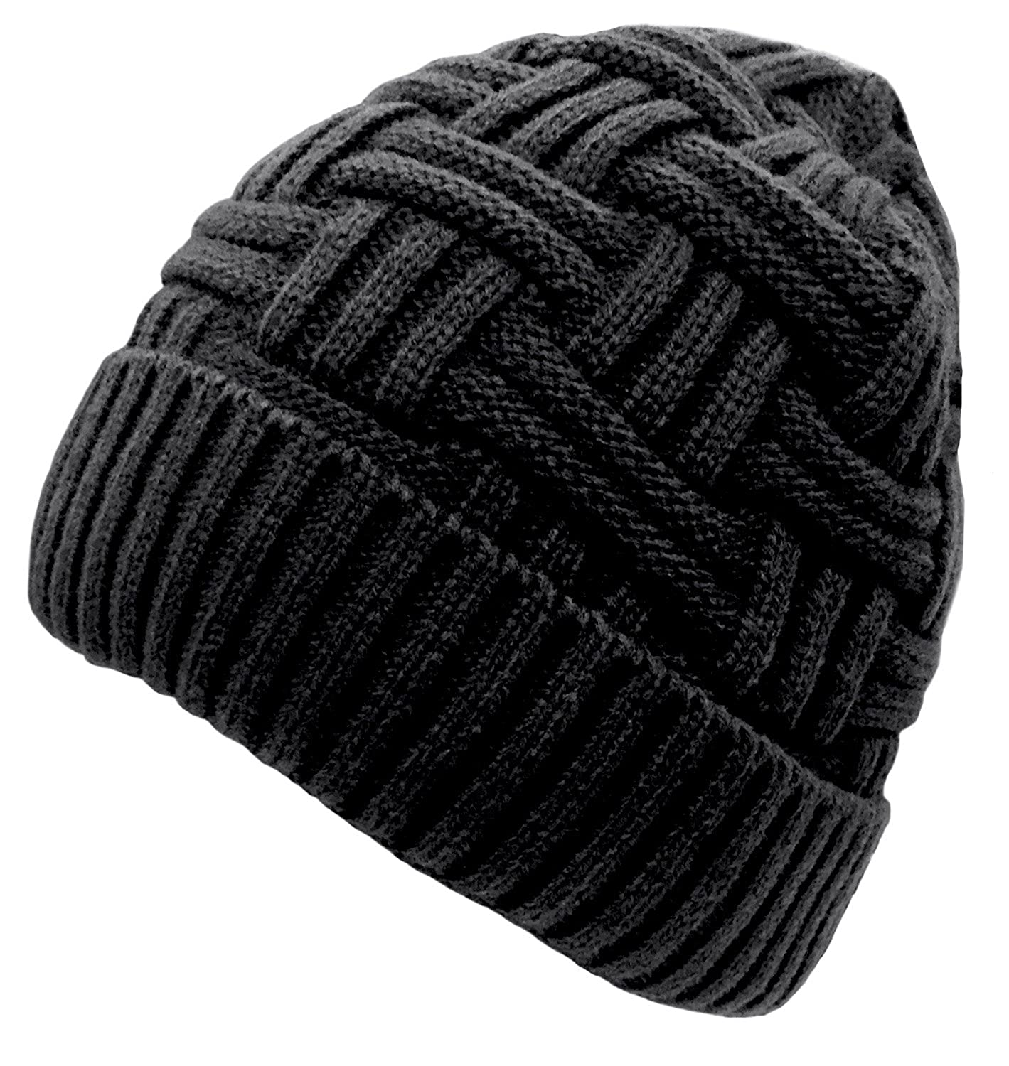 e7c55748af9 Material  The winter knitted beanie hat made of premium quality stretchy