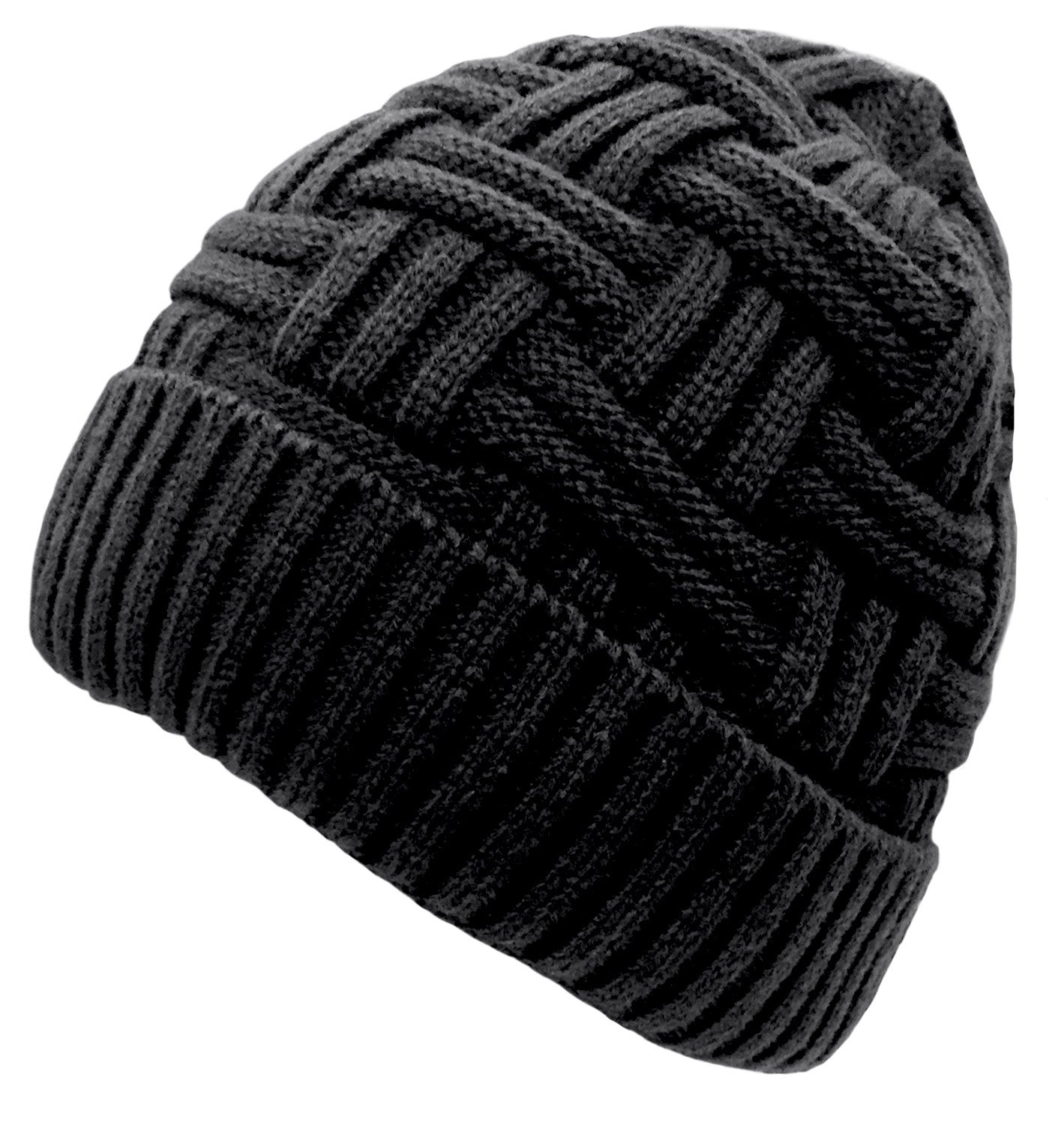 Loritta Mens Winter Warm Knitting Hats Wool Baggy Slouchy Beanie Hat Skull  Cap product image 2ca5939ad5d6