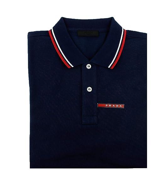 Amazon.com: Prada - Polo de manga corta para hombre, algodón ...