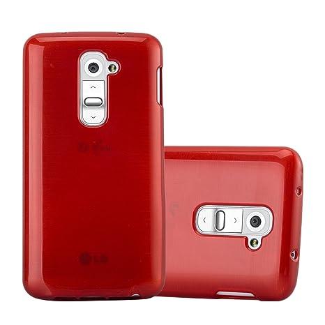 Cadorabo Funda para LG G2 Mini en Rojo: Amazon.es: Electrónica