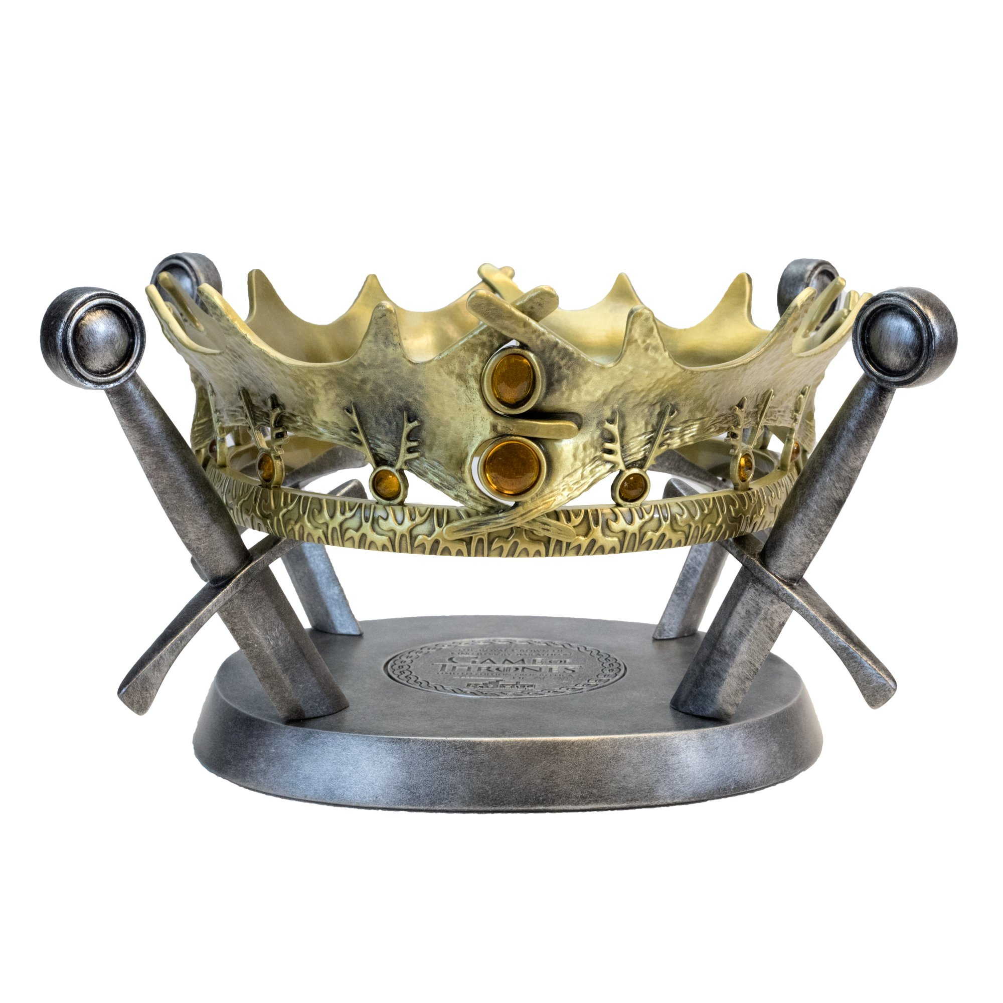 Factory Entertainment Game Of Thrones - The Royal Crown Of King Robert Baratheon Limited Edition Prop Replica