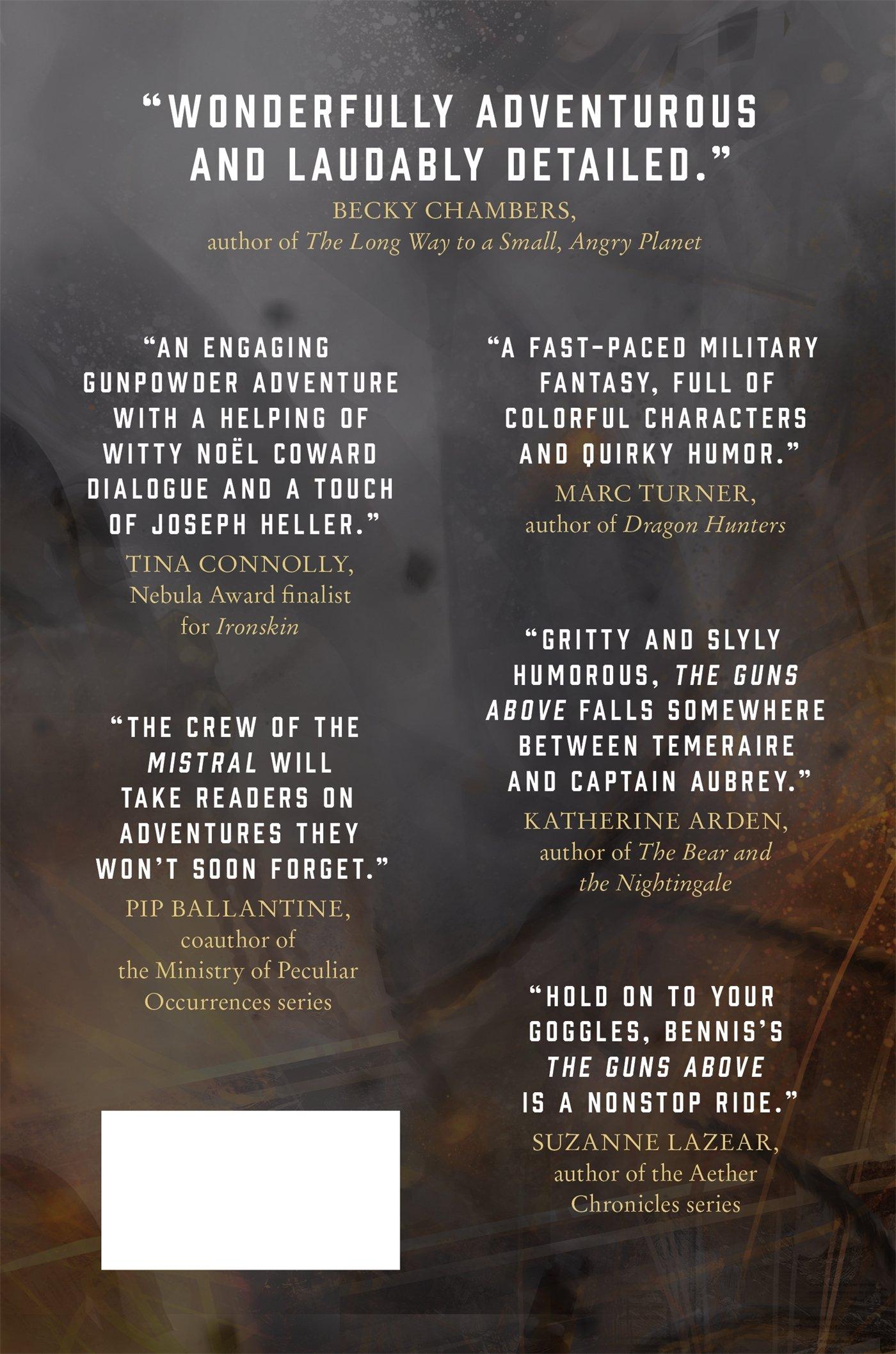Amazon: The Guns Above (signal Airship) (9780765388766): Robyn Bennis:  Books