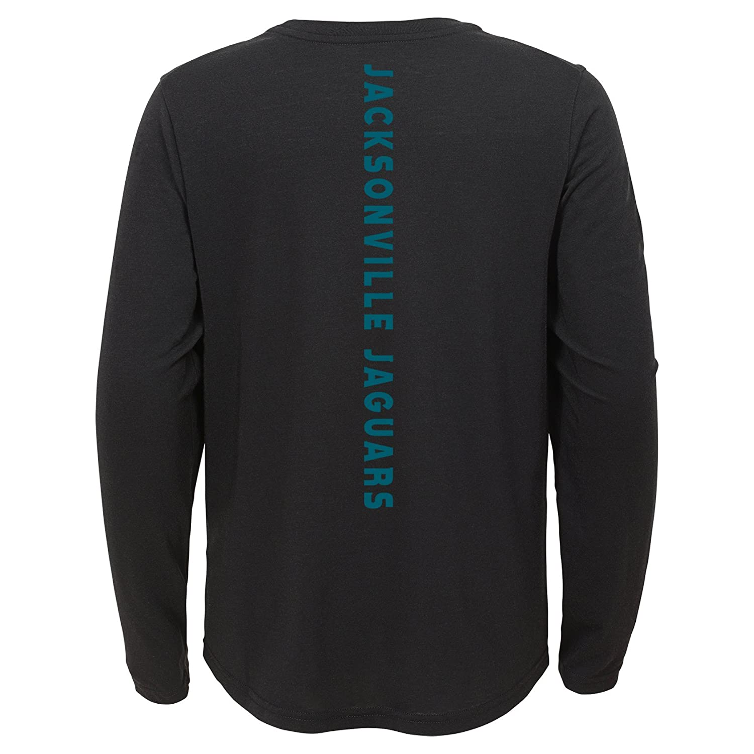 Outerstuff NFL Jacksonville Jaguars Youth Boys Flux Long Sleeve Ultra Tee Black Youth Small 8