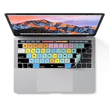 Ableton Live Teclado cubierta para macbook pro con Touch Bar - Aplicación accesos directos: Amazon.es: Electrónica