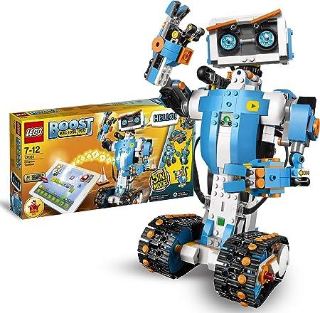 Incluye un concentrador motorizado LEGO, un motor adicional y un sensor de color y distancia, así co