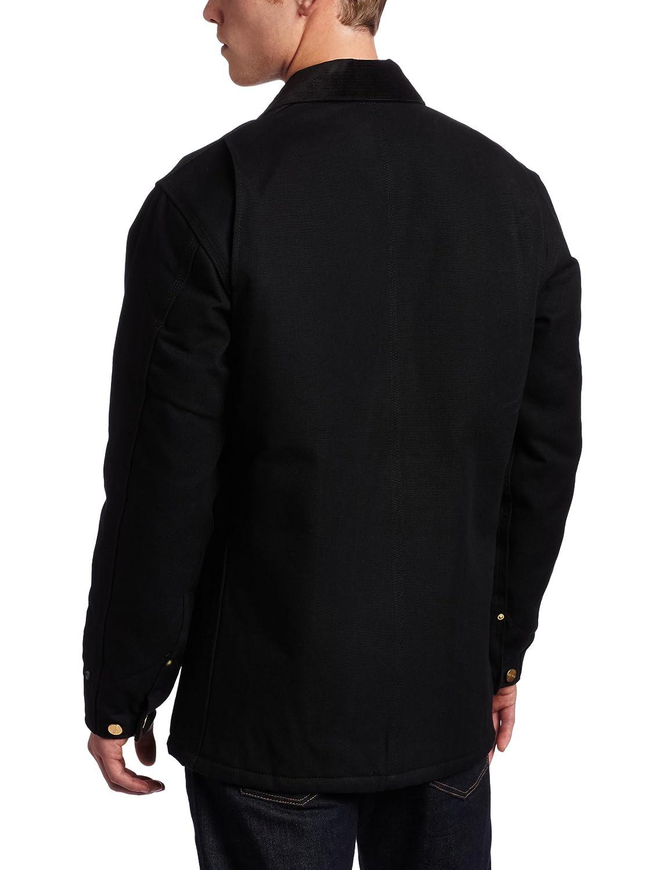 Carhartt Mens Duck Chore Coat Blanket Lined C001