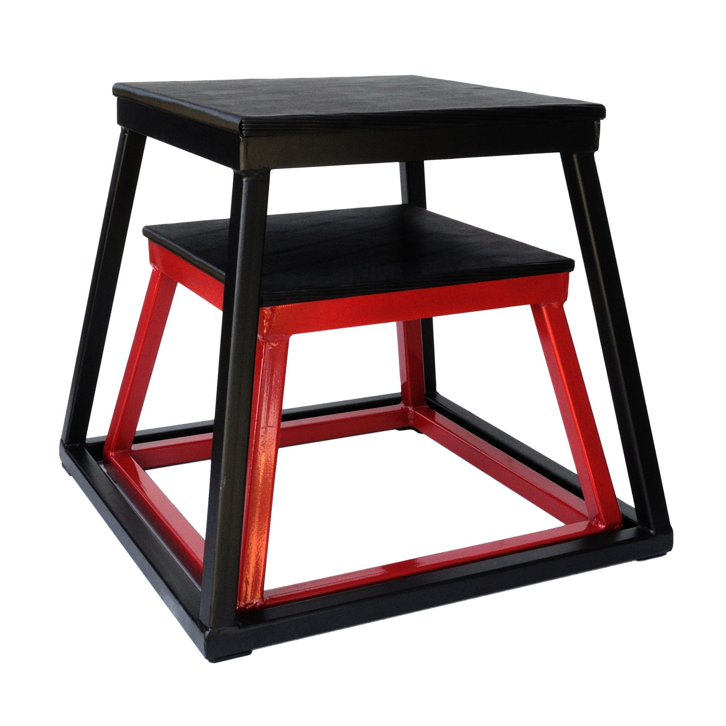 Ader 12'', 18'' Plyo Boxes (Red + Black)