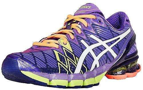 competitive price 38709 51977 ASICS Women s Gel-Kinsei 5 Running Shoe Ultra Marine White Purple 5 B