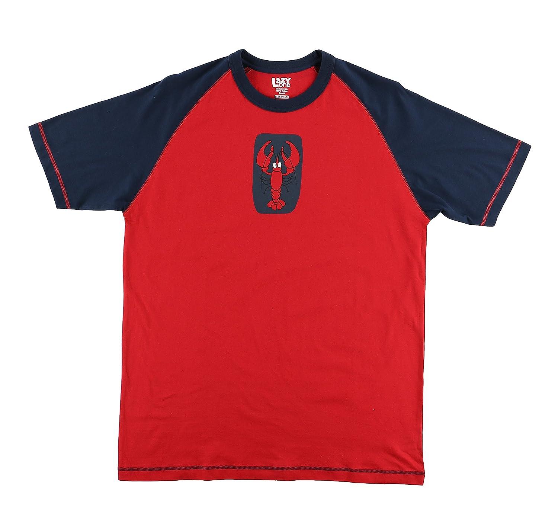 Lazy One Lobster Men's PJ T Shirt Adult Medium LazyOne TS758BM