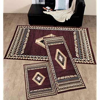 Amazon Com Champion Rugs Lodge Cabin Country Western