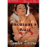 Cardinal's Rule (Siren Publishing Menage and More) (English Edition)