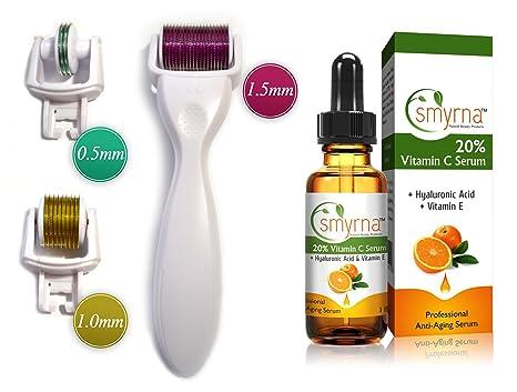 Kit de productos Derma-Cit ®, rodillo Derma Roller 3 en 1,