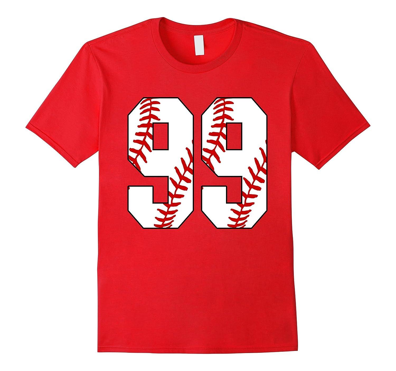 99 Baseball Lover Ninety-Nine Player Baseball Mom T-shirt-PL