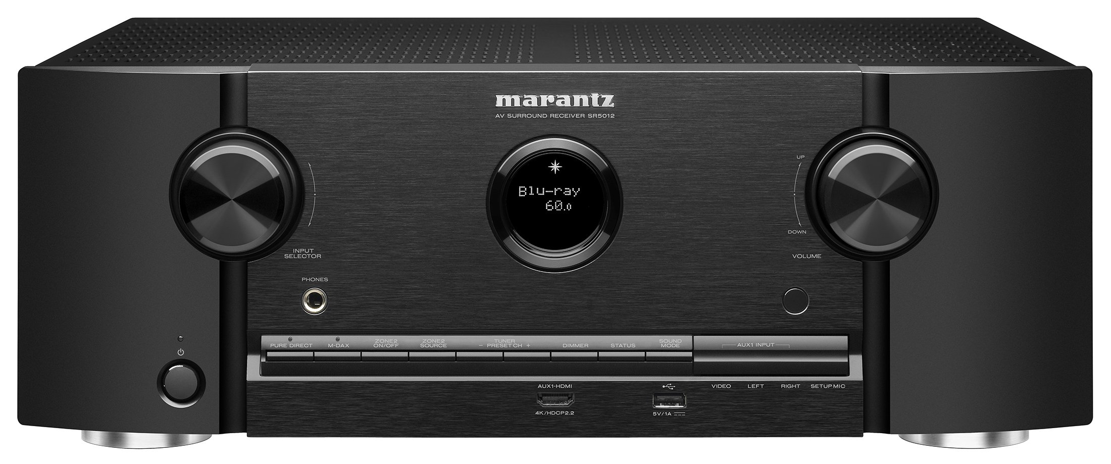Marantz SR5012 7.2 Channel Full 4K Ultra HD Network AV Surround Receiver with HEOS Black, Works with Alexa (Discontinued by Manufacturer)