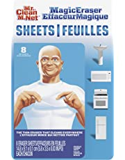 Mr. Clean Magic Eraser Cleaning Sheets, The Power Of A Magic Eraser In A Thin, Flexible, Disposable Sheet, 8 Count