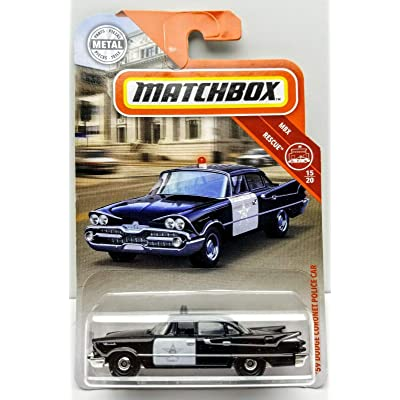 Matchbox 2020 59 Dodge Coronet Police CAR: Toys & Games