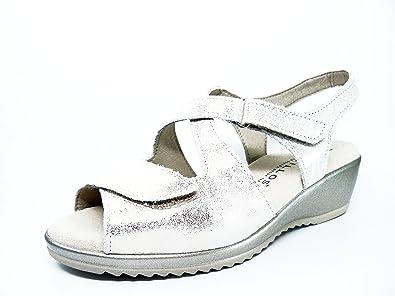 Damen Sandalen, beige - beige - Größe: 38 Pitillos